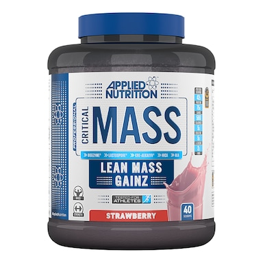 Applied Nutrition Critical Mass Protein Strawberry 2400g