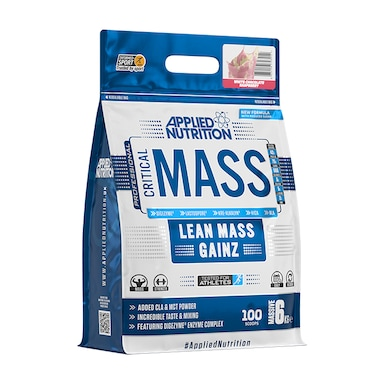 Applied Nutrition Critical Mass White Chocolate Raspberry 6000g