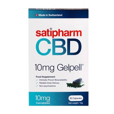 Satipharm CBD Gelpell 30 Capsules