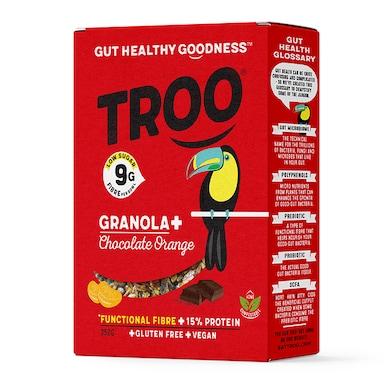 Troo Granola Chocolate with Orange 350g