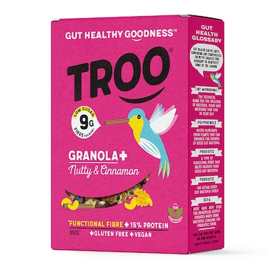 Troo Granola Nicely Nutty with Cinnamon 350g