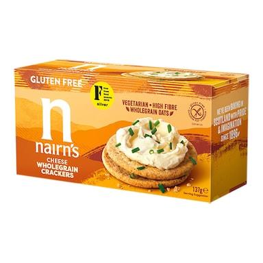 Nairn's Gluten Free Cheese Crackers 150g