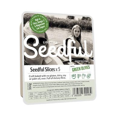 Seedful Organic Gluten Free Loaf & Olives 350g