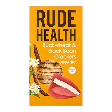 Rude Health Buckwheat & Blackbean Cracker 120g