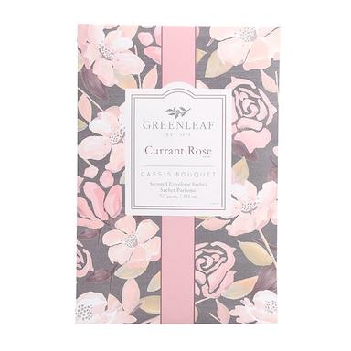 Greenleaf Currant Rose Fragrance Sachet 115ml