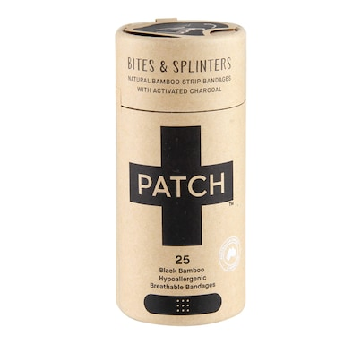 Patch Activated Charcoal Bamboo Plasters (25 pack)