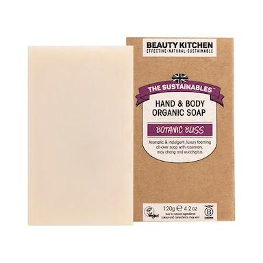 Beauty Kitchen The Sustainables Botanic Bliss Hand & Body Organic Soap 120g