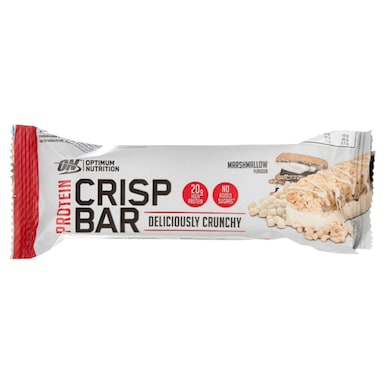 Optimum Nutrition Crisp Protein Bar Marshmallow 65g
