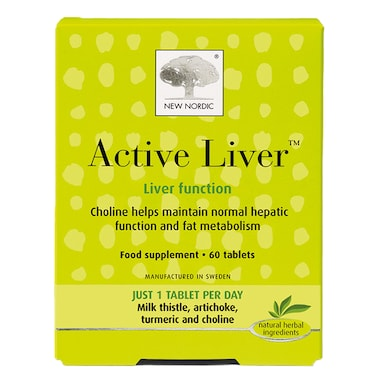 New Nordic Active Liver 60 Tablets