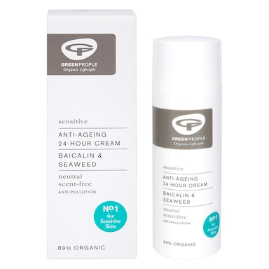 Green People Scent Free Anti-Ageing 24 Hour Cream 50ml