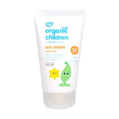 Green People Scent Free Organic Children Sun Lotion SPF30 150ml