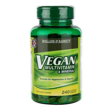 Holland & Barrett Vegan Multivitamin & Mineral 240 Tablets