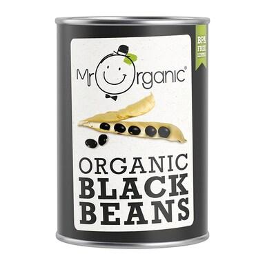 Mr Organic Organic Black Beans 400g