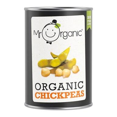 Mr Organic Organic Chickpeas 400g