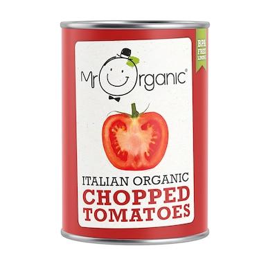 Mr Organic Italian Organic Chopped Tomatoes 400g