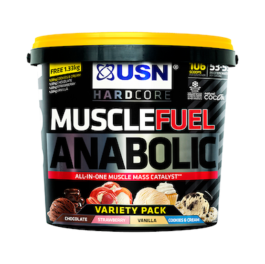 USN Muscle Fuel Anabolic All-In-One Shake Variety Pack 5.23kg