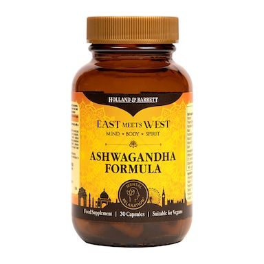 East Meets West Ashwagandha Complex Capsules