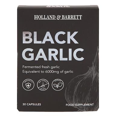 Holland & Barrett Black Garlic 30 Capsules
