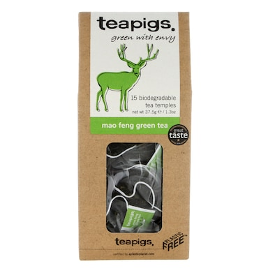 teapigs Mao Feng Green Tea 15 Temples