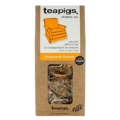 teapigs Chamomile Flowers Tea 15 Temples