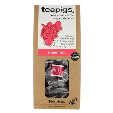 teapigs Super Fruit Tea 15 Temples