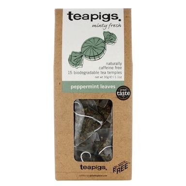 teapigs Peppermint Leaves Tea 15 Temples