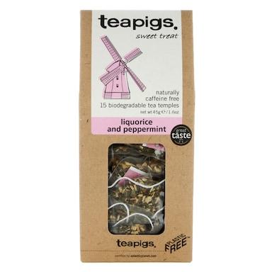 teapigs Liquorice and Peppermint Tea 15 Temples