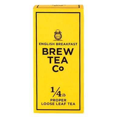 Brew Tea Co. English Breakfast Loose Leaf Tea 113g
