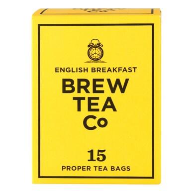 Brew Tea Co. English Breakfast Tea 15 Teabags