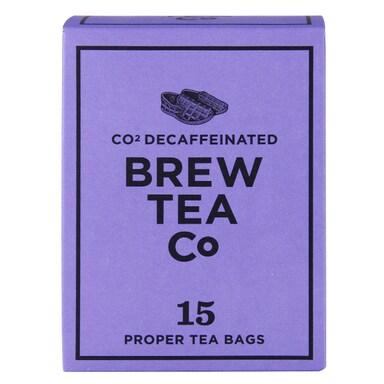 Brew Tea Co. Co2 Decaffeinated Tea 15 Teabags