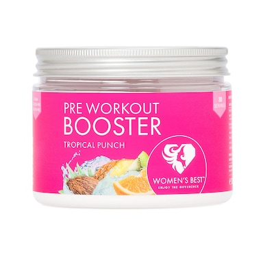 Women's Best Pre Workout Booster Tropical Punch 300g