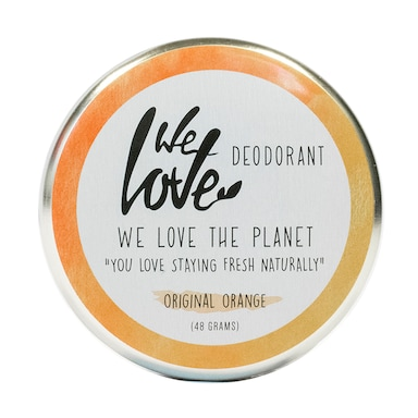 We Love The Planet Deo Tin Orange 48g