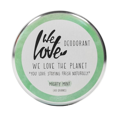 We Love The Planet Deo Tin Mighty Mint 48g