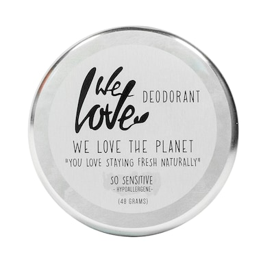 We Love The Planet Deo Tin So Sensitive 48g