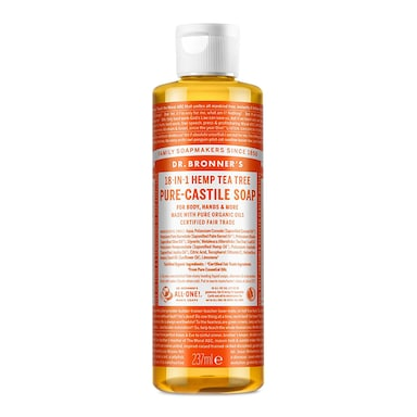 Dr Bronner's Tea Tree Pure-Castile Liquid Soap 237ml