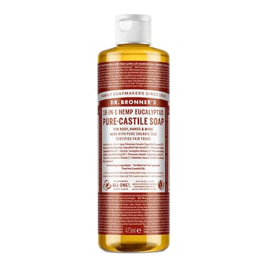 Dr Bronner's Eucalyptus Pure-Castile Liquid Soap 473ml
