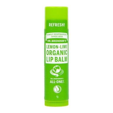 Dr Bronner's - Lemon Lime Organic Lip Balm 4g