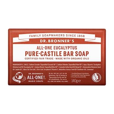Dr Bronner's - All-One Eucalyptus Pure-Castile Bar Soap 140g