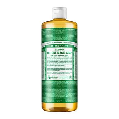 Dr Bronner's Almond Pure-Castile Liquid Soap 946ml