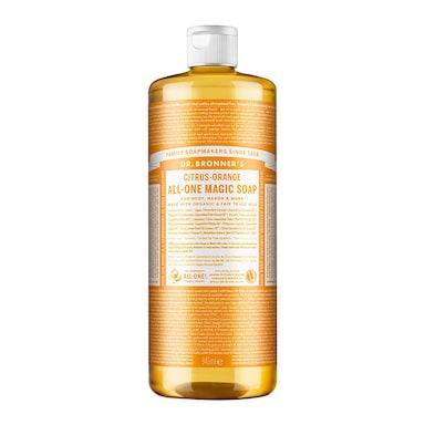 Dr Bronner's Citrus Orange Pure-Castile Liquid Soap 946ml