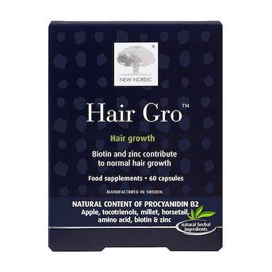 New Nordic Hair Gro 60 Tablets