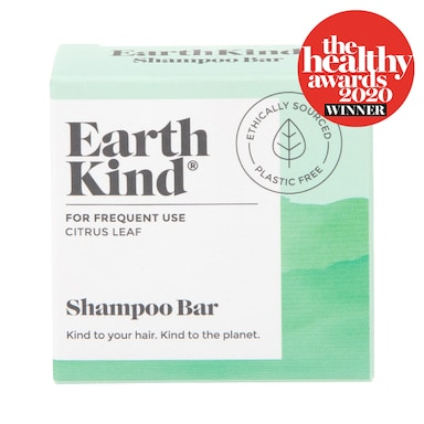 EarthKind Citrus Leaf Shampoo Bar for Frequent Use
