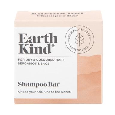 EarthKind Bergamot & Sage Shampoo Bar for Dry & Coloured Hair