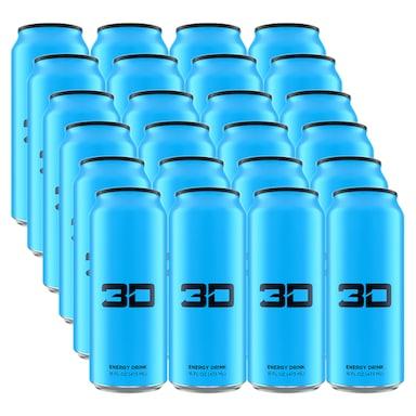 3D Energy Blue Box 24 x 473ml