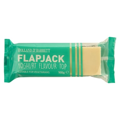 Holland & Barrett Yoghurt Flavour Top Flapjack 100g