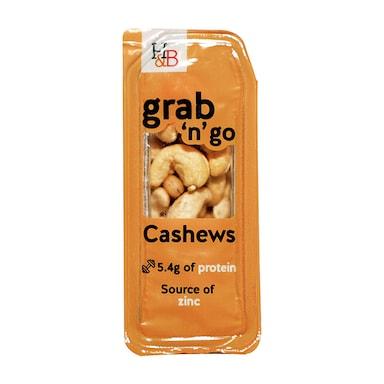 Holland & Barrett Grab n Go Whole Cashew Nuts 30g