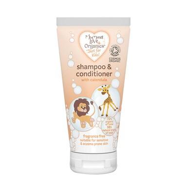 Mumma Love Organics Kids Shampoo & Conditioner 200ml