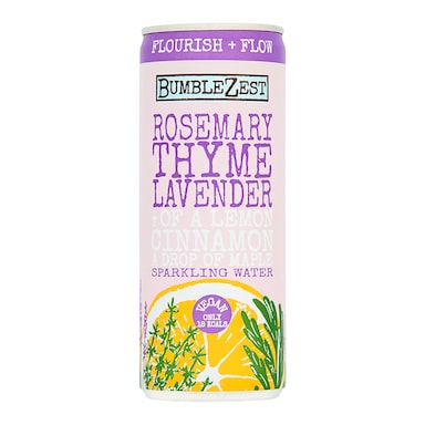 Bumblezest Rosemary, Thyme and Lavender Drink 250ml