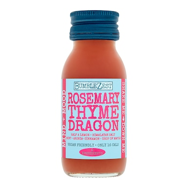 Bumblezest Rosemary, Thyme & Dragonfruit Drink 60ml