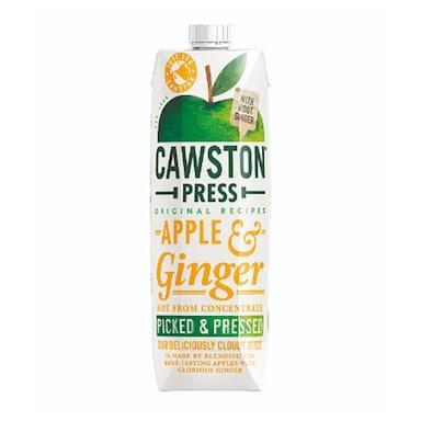 Cawston Apple & Ginger Juice - Pressed 1Ltr